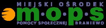 Logo MOPS Braniewo